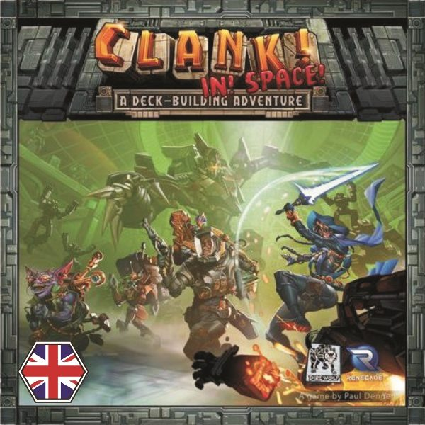 Clank! in! Space! Portada