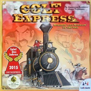Colt Express Portada