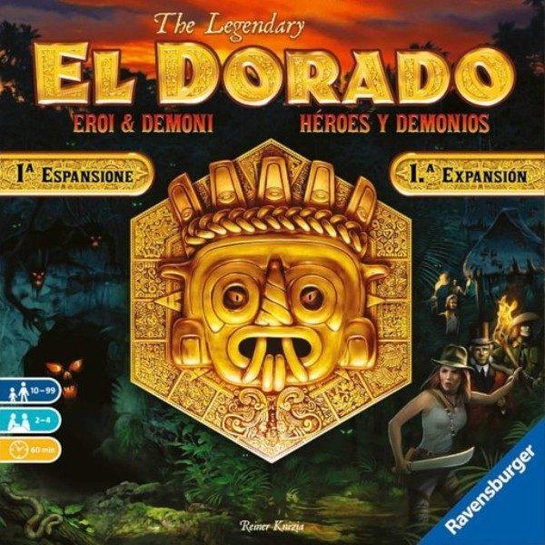 El Dorado Heroes y Demonios Portada