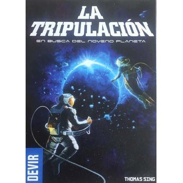 La Tripulación: En busca del noveno planeta Portada