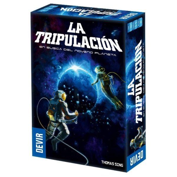 La Tripulación: En busca del noveno planeta Caja