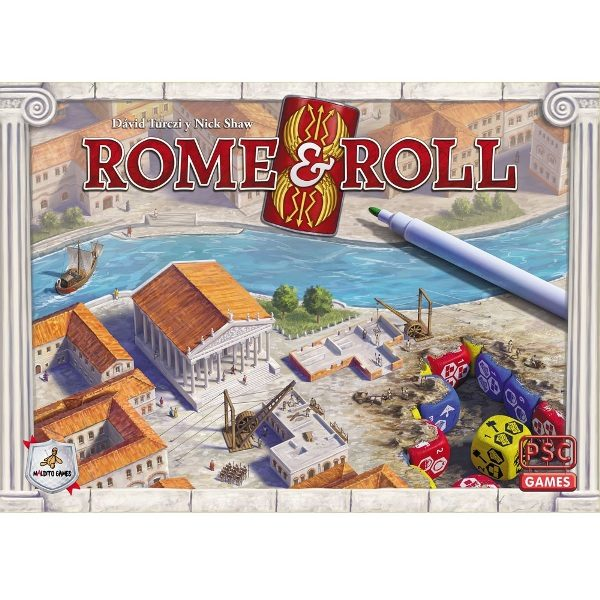 Rome & Roll Portada
