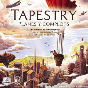 Tapestry Planes y Complots Portada