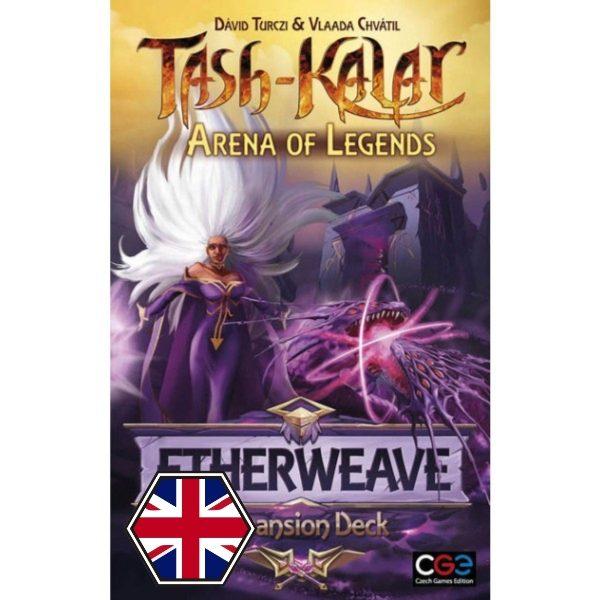 Tash-Kalar: Arena de Leyendas - Etherweave Portada