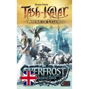 Tash Kalar: Arena de Leyendas - Everfrost Portada