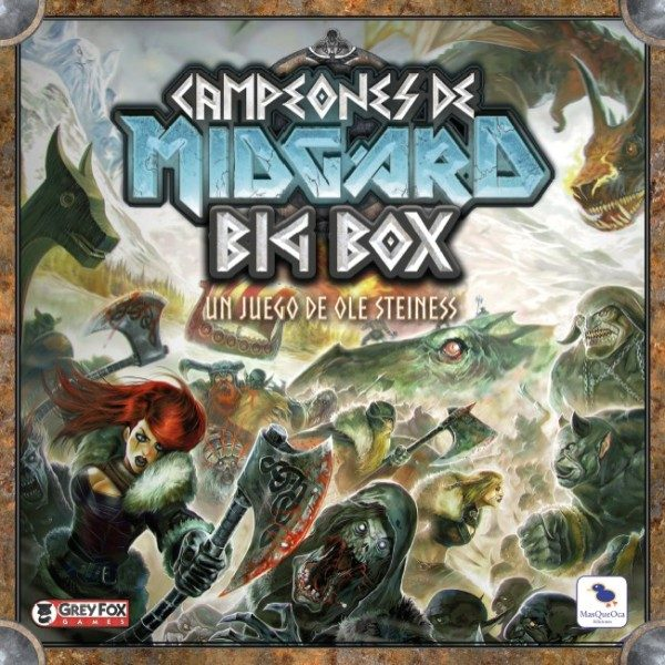 Campeones de Midgard Big Box Portada