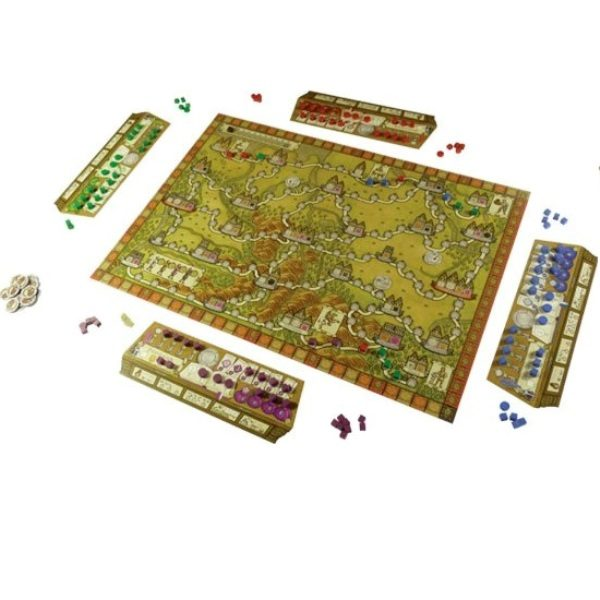 Hansa Teutonica Big Box Desplegado