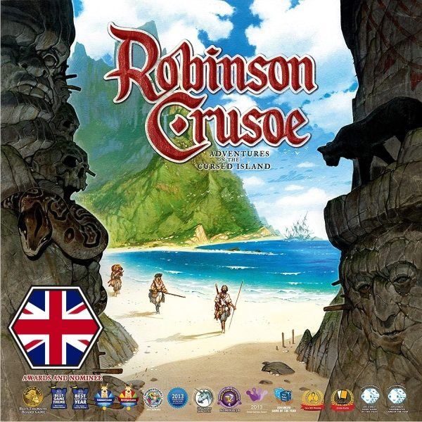 Robinson Crusoe Portada