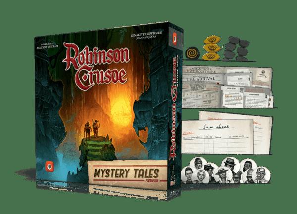 Robinson Crusoe Relatos Misteriosos Desplegado