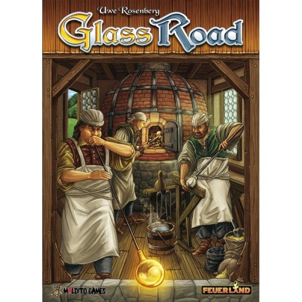 Glass Road Portada